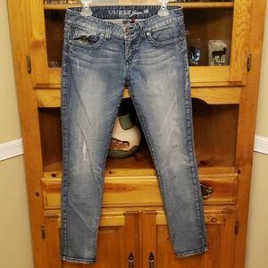 GUESS Jeans Daredevil Skinny Leg  sz 30